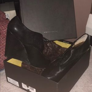 Authentic italian cynthia vincent wedges